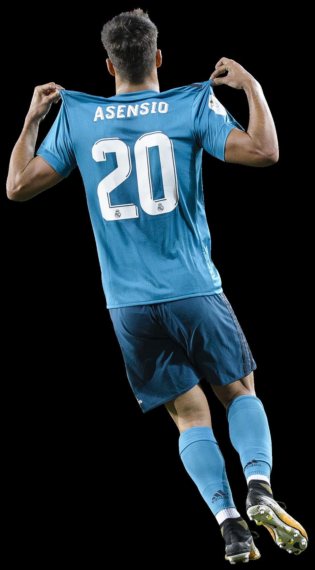 marco asensio football render - 40265