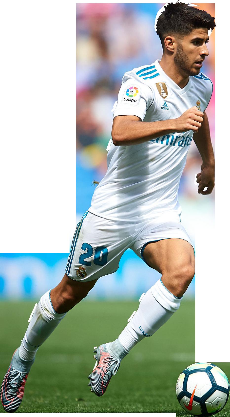 Marco Asensio football render - 41099 - FootyRenders
