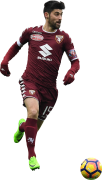 Marco Benassi football render