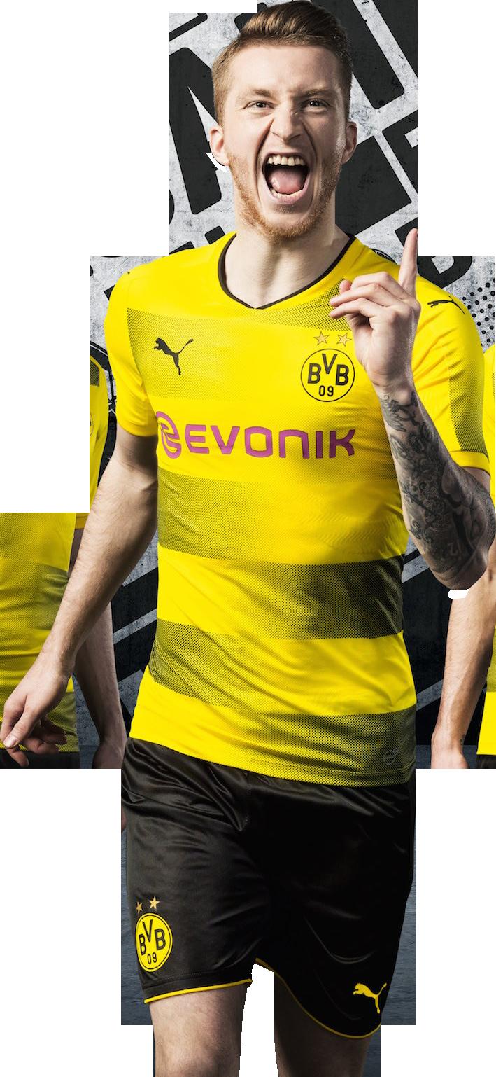 Marco Reus football render - 37308 - FootyRenders