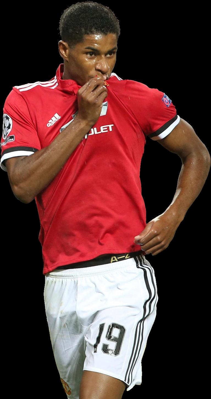 Marcus Rashford football render - 41125 - FootyRenders