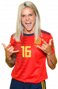 Maria Leon football render