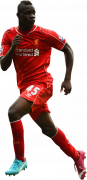 Mario Balotelli football render