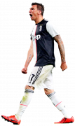 Mario Mandzukic football render