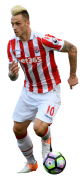 Marko Arnautovic football render