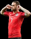 Marko Arnautovic football render