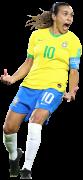 Marta Vieira football render