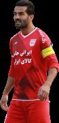 Masoud Shojaei football render