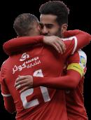 Masoud Shojaei & Ashkan Dejagah football render