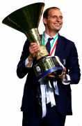 Massimiliano Allegri football render