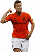 Matthijs de Ligt football render
