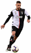 Mattia De Sciglio football render