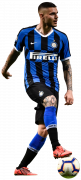Mauro Icardi football render