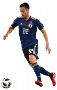 Maya Yoshida football render