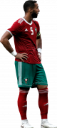 Medhi Benatia football render