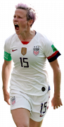 Megan Rapinoe football render