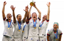 Megan Rapinoe, Alex Morgan, Carli Lloyd, Julie Ertz, Crystal Dunn, Kelley O'Hara football render