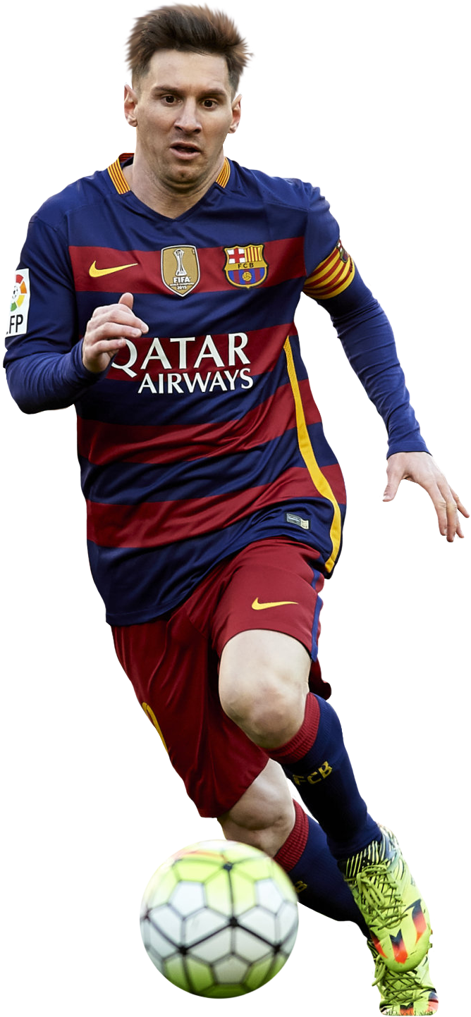 Lionel Messi football render - 23855 - FootyRenders