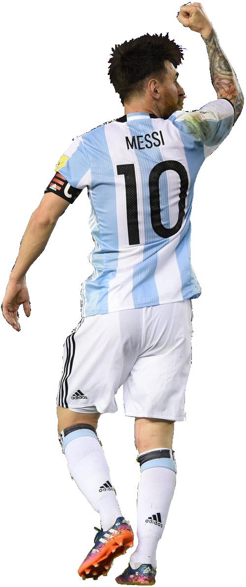 Lionel Messi football render - 35370 - FootyRenders