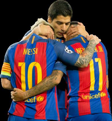 Lionel Messi, Neymar & Luis Suarez