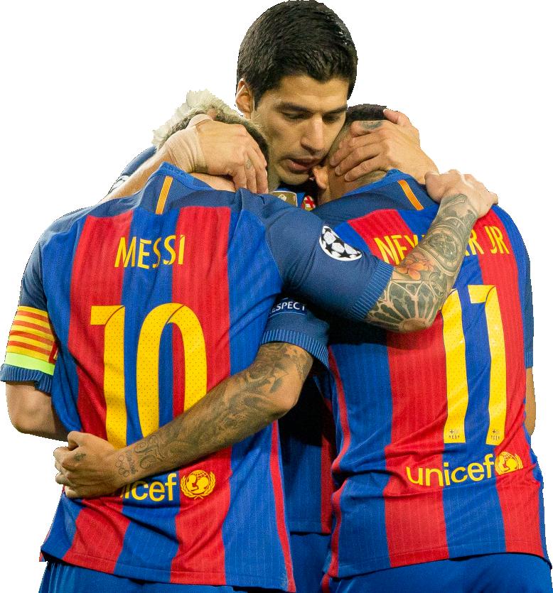 Lionel Messi, Neymar & Luis Suarezrender