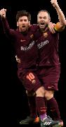 Lionel Messi & Andres Iniesta