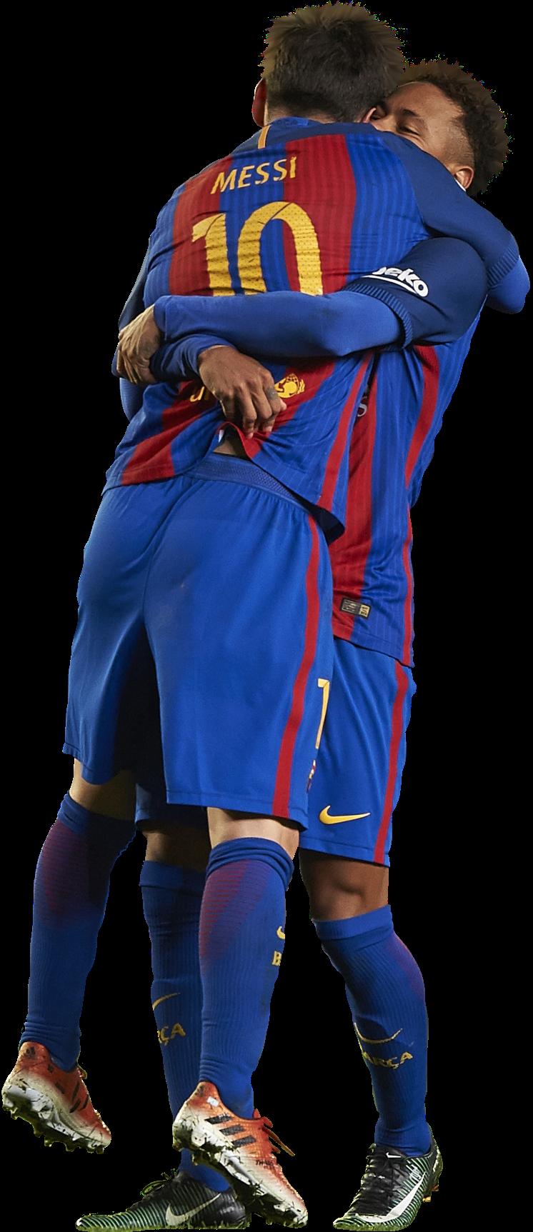 Lionel Messi & Neymarrender