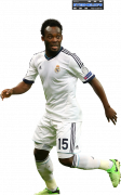 Michael Essien football render