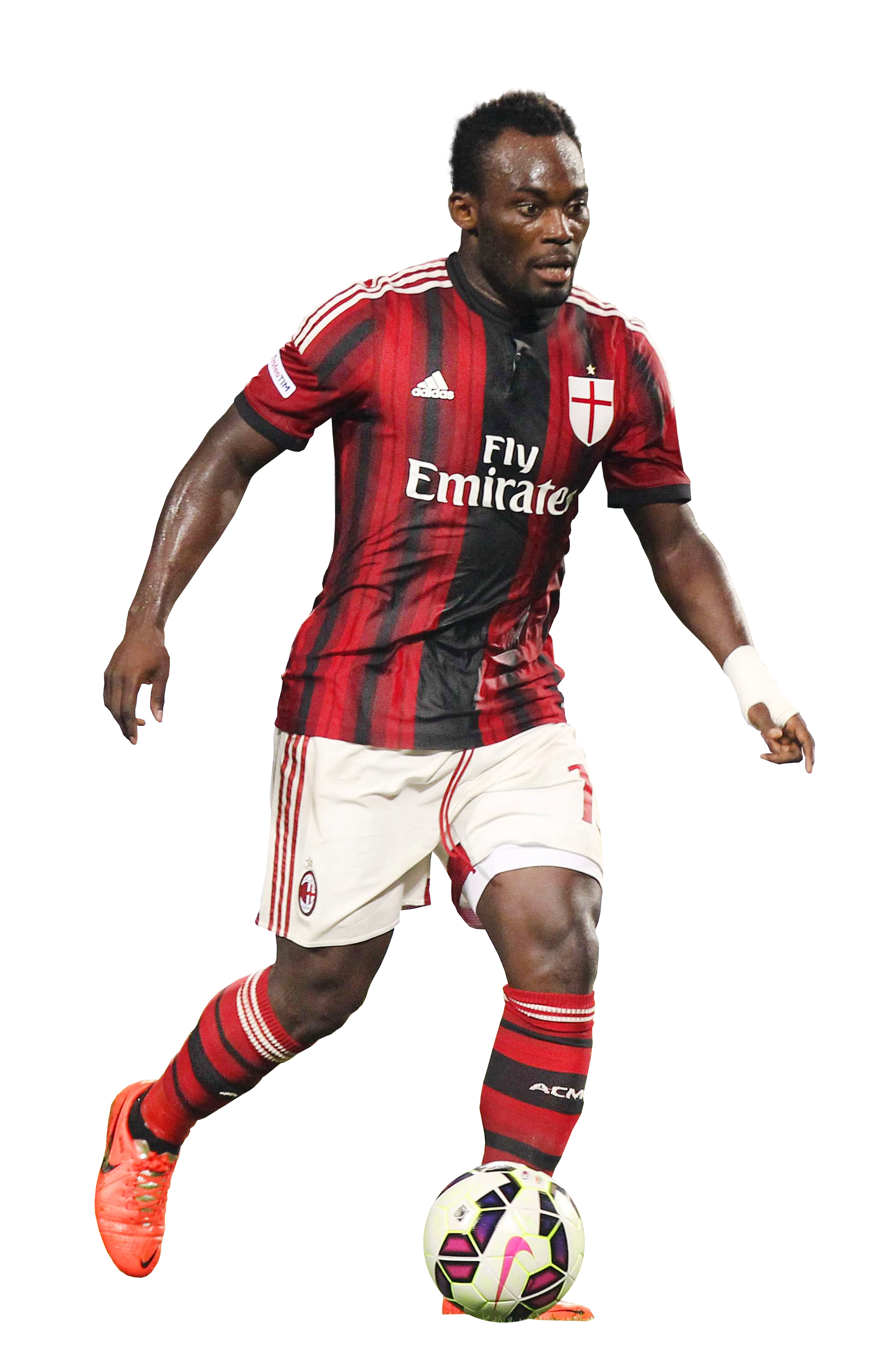 Michael Essien football render 9545 FootyRenders