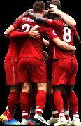 James Milner, Naby Keita, Andrew Robertson, Sadio Mané & Mohamed Salah