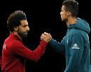 Mohamed Salah & Cristiano Ronaldo