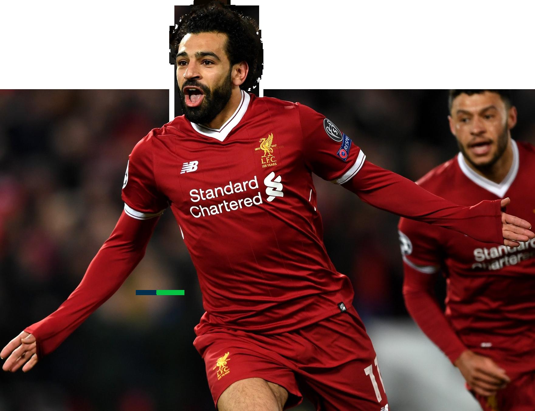 Mohamed Salah football render - 44848 - FootyRenders