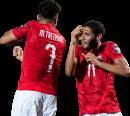 "Mohamed ""Trézéguet"" Hassan & Mohamed Elneny football render"
