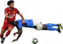 Mohamed Salah & Kalidou Koulibaly football render