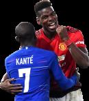 N'Golo Kanté & Paul Pogba