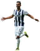 Nacer Chadli football render