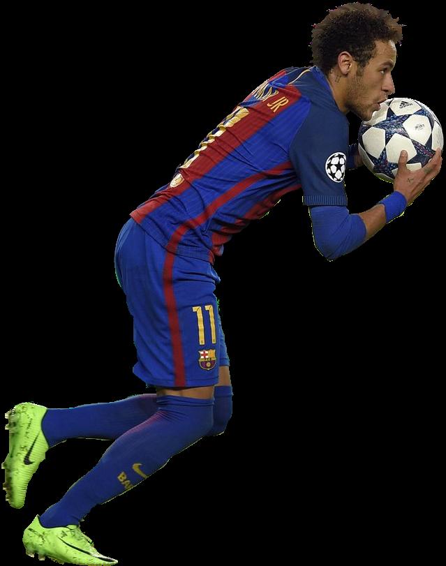 Neymar football render 35009 footyrenders - Render barcelona ...