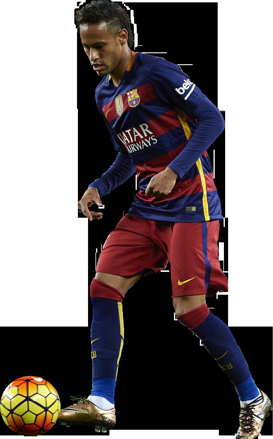 Neymar football render 20264 footyrenders - Render barcelona ...