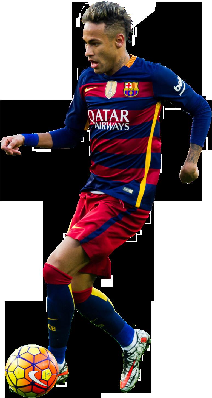 Neymar football render 21693 footyrenders - Render barcelona ...