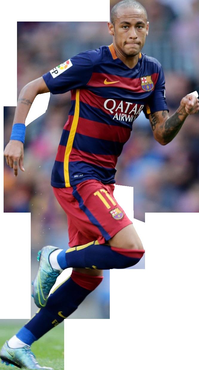 Neymar football render 17067 footyrenders - Render barcelona ...
