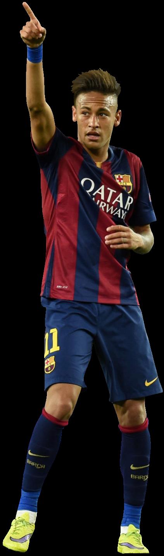 Neymar football render 12969 footyrenders - Render barcelona ...