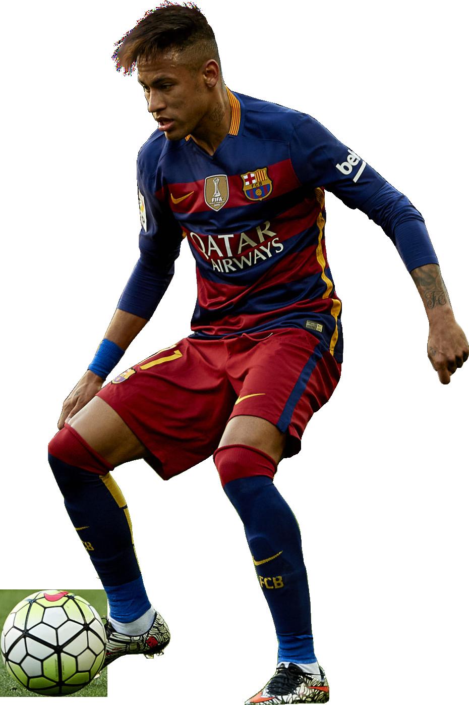 Neymar football render 23724 footyrenders - Render barcelona ...