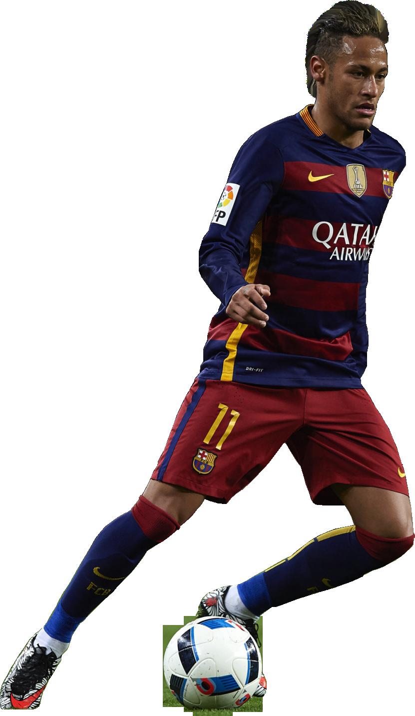 Neymar football render 21868 footyrenders - Render barcelona ...