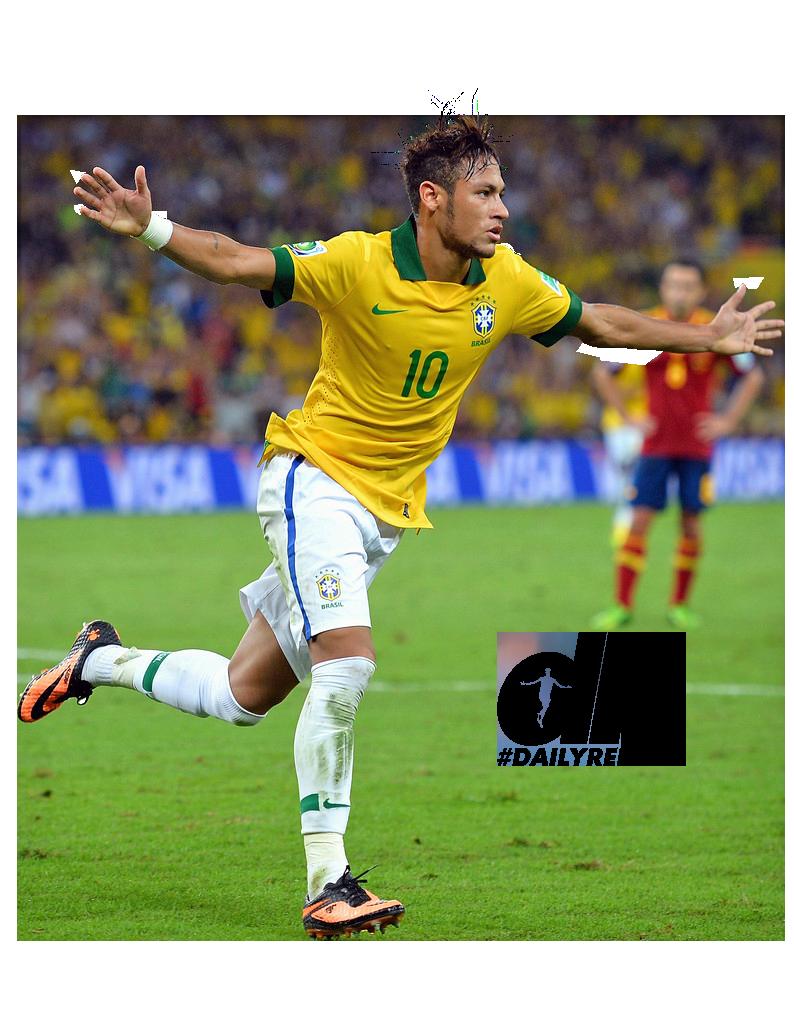 Neymar football render - 2118 - FootyRenders