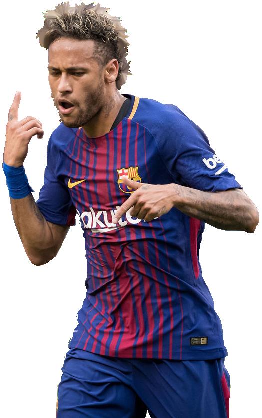 Neymar football render 39165 footyrenders - Render barcelona ...