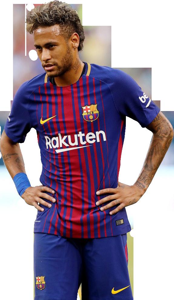 Neymar football render - 39210 - FootyRenders