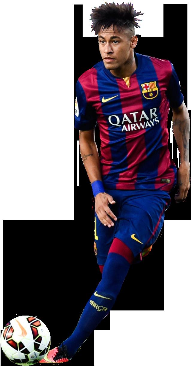 Neymar football render 7322 footyrenders - Render barcelona ...
