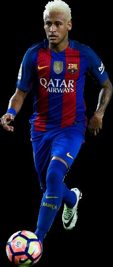 Neymar football render 29527 footyrenders - Render barcelona ...