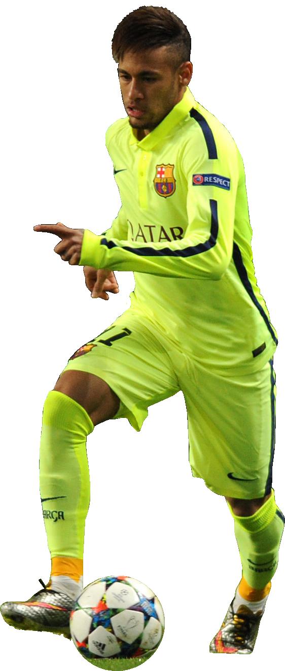 Neymar football render 11163 footyrenders - Render barcelona ...