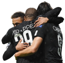 Neymar, Kylian Mbappé, & Edinson Cavani